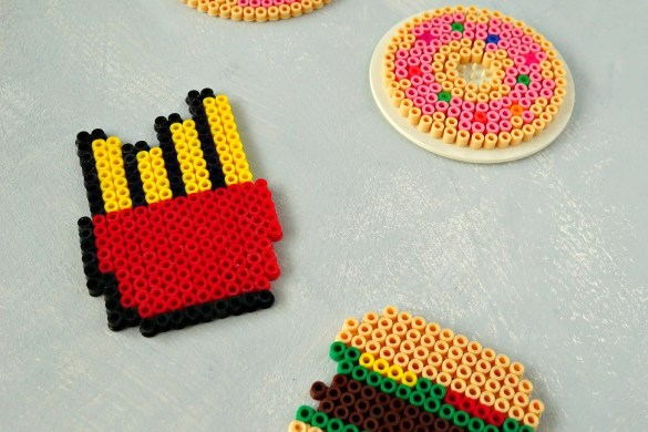 DIY Fast Food Coasters for Summer   How To Tutorial by The Makeup Dummy
