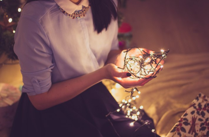 DIY Beauty tips about hair, makeup, nails and outfits for a fabulous office Christmas party - written by Olivia Gillmore on The Makeup Dummy blog