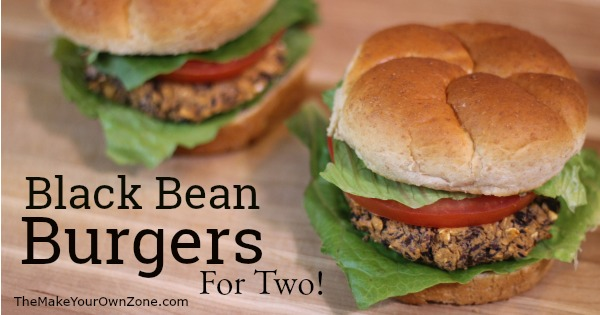 How to make quick and easy black bean burgers