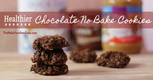 How to make a healthier version of the traditional chocolate no bake cookie recipe