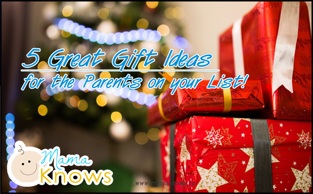 5 gift ideas for Parents