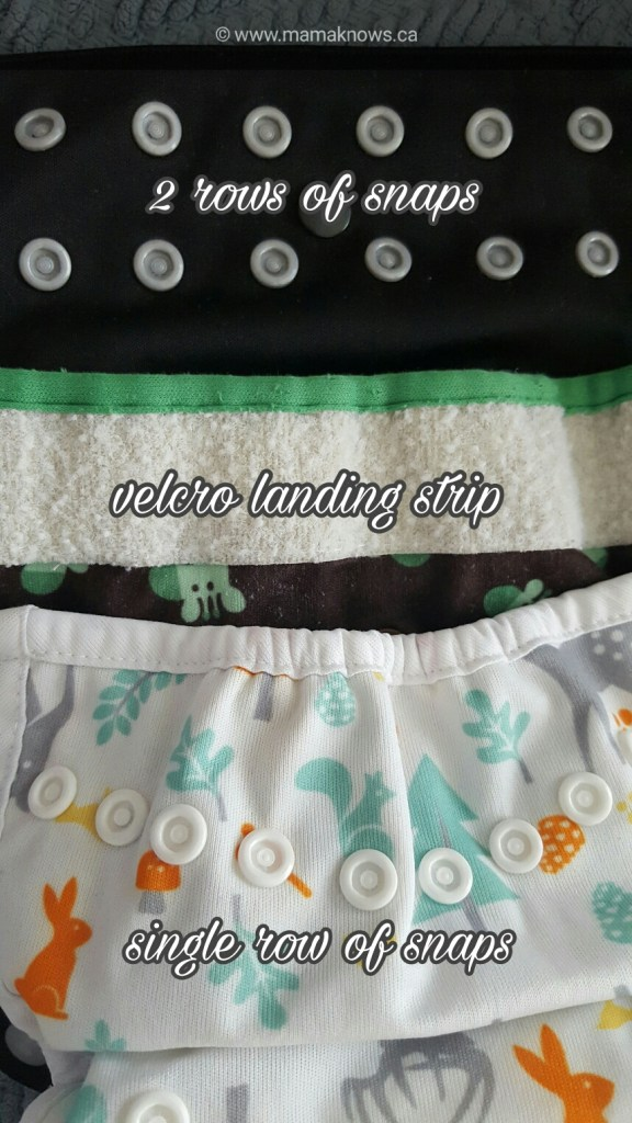 cloth diapers options