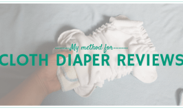My method for testing cloth diapers