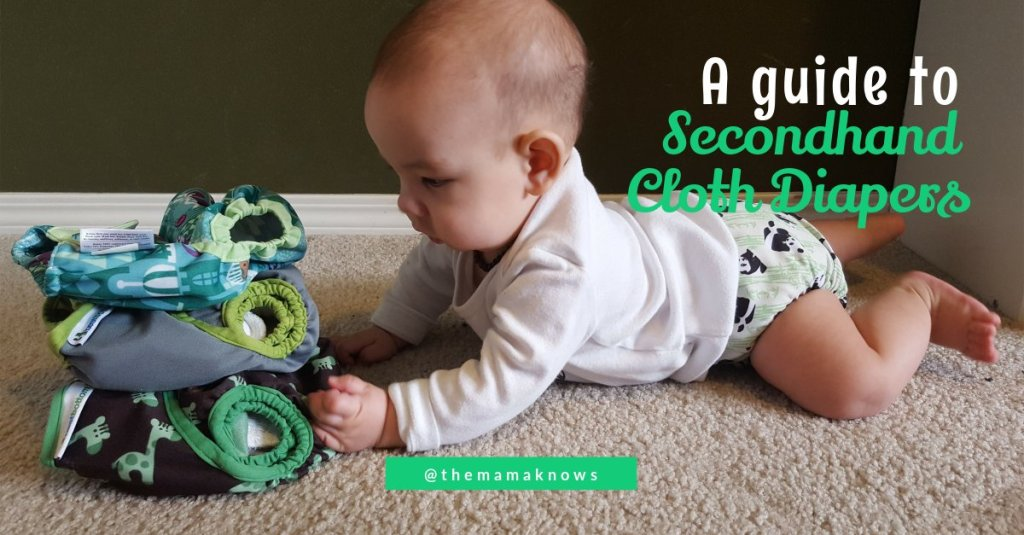 a guide to buying and selling secondhand cloth diapers