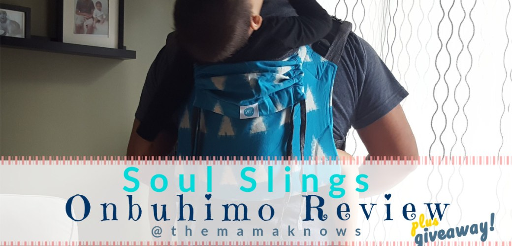 Soul Onbuhimo Baby Carrier Review {+Giveaway!}