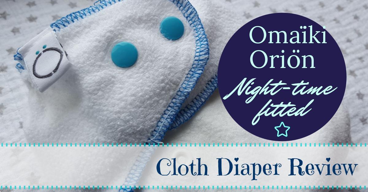 Omaïki Oriön Nighttime Fitted Diaper Review