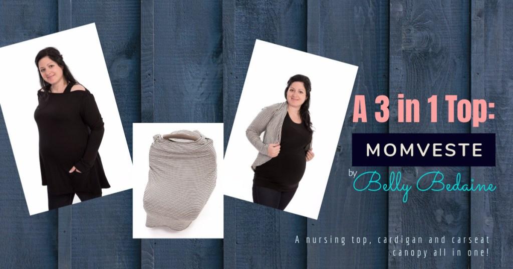 Belly Bedaine Momveste 3 in 1 Nursing top Review