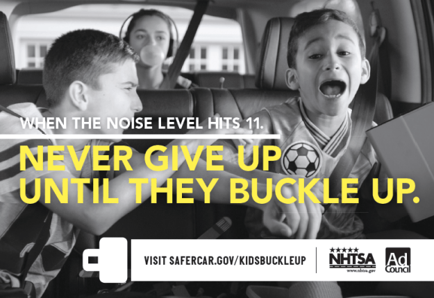 The MiniVan Should Not Be a Battlefield – Buckle Up for Tween Seat Safety #KidsBuckleUp