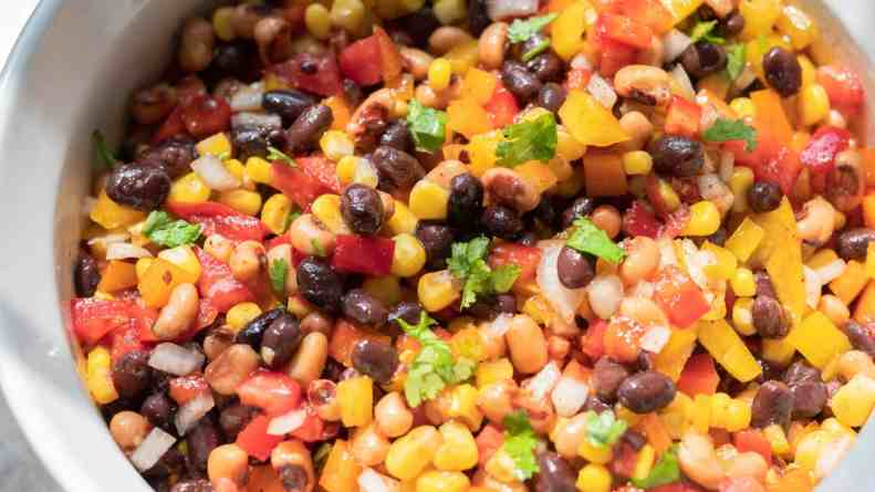 Easy Corn Salad Recipe Cowboy Caviar
