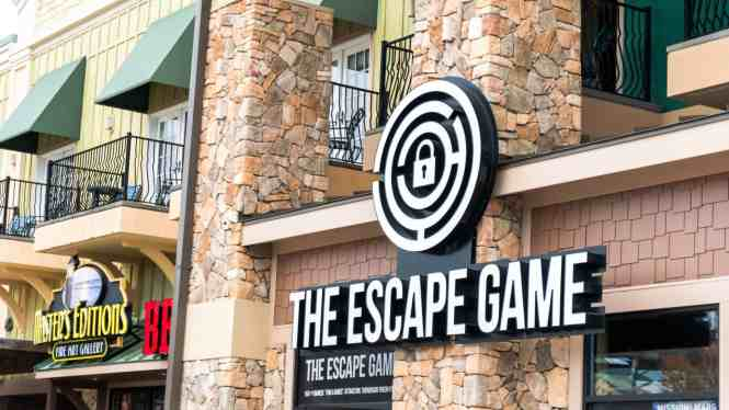 Island at Pigeon Forge Escape Game