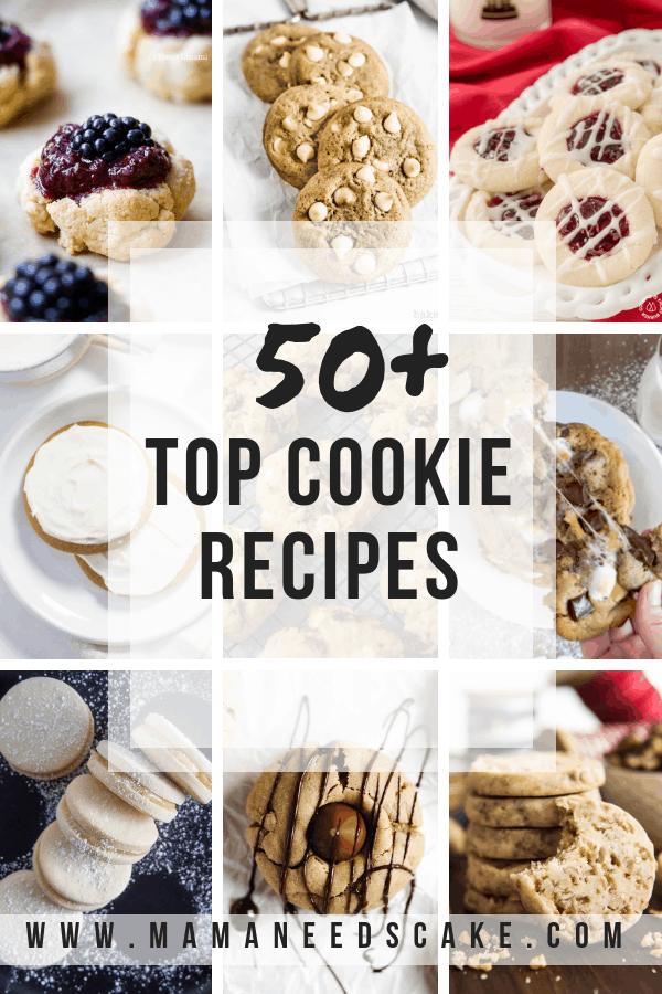 Christmas Cookie Top Cookies