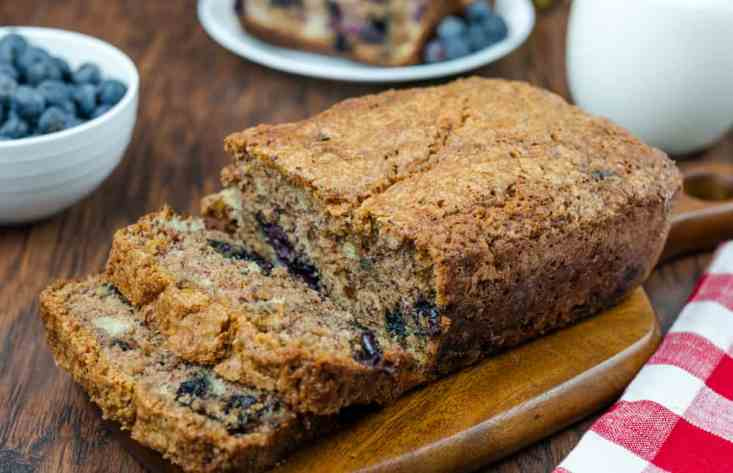 The Old Mill Copycat for fresh Blueberry Banana Bread