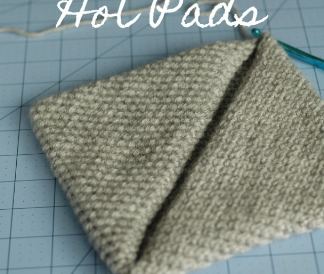 If You Know How To Crochet A Single Crochet Stitch You Can Make These Double Thick Magic Crocheted Hot Pads A Couple Of Years Ago I Made A Bunch Of