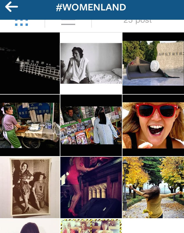 #womenland su Instagram