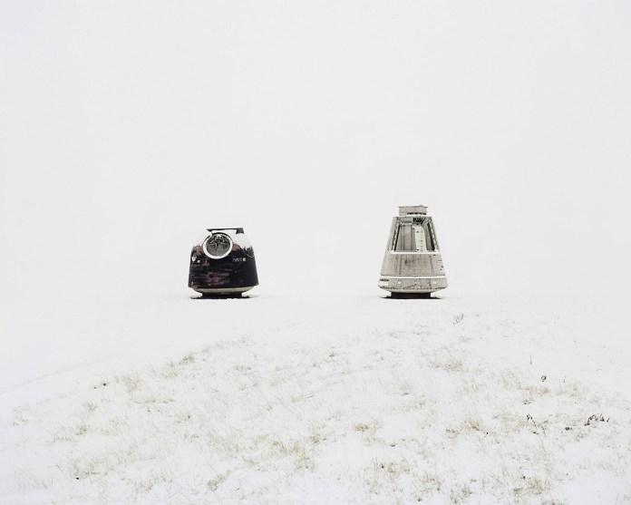 Danila Tkachenko Elementi di missili spaziali. Russia, Regione di Kyzylorda 2013
