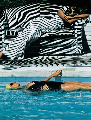 French Vogue from the series White Women Melbourne 1973 © Helmut Newton Estate