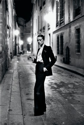 Rue Aubriot, French Vogue from the series White Women Paris 1975 © Helmut Newton Estate
