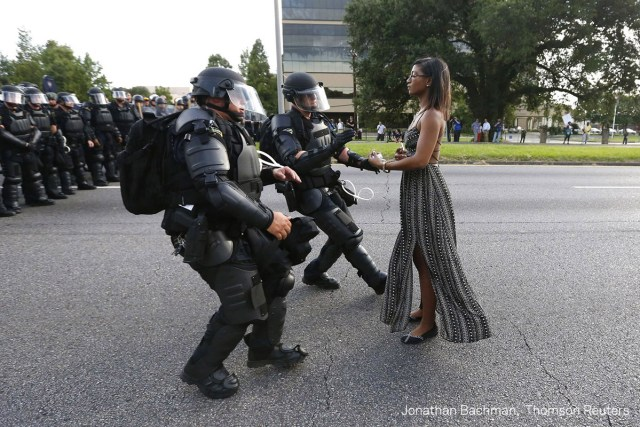 © Jonathan Bachman, Thomson Reuters Title: Taking A Stand In Baton Rouge