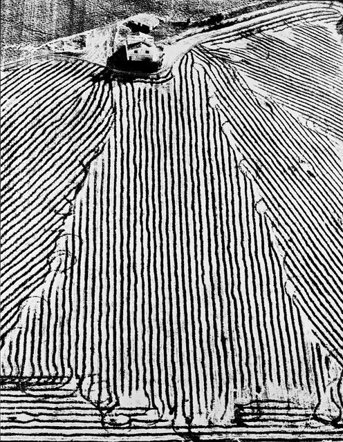 Mario Giacomelli, Dalla serie Presa di coscienza sulla natura, 1955-84 © Simone Giacomelli