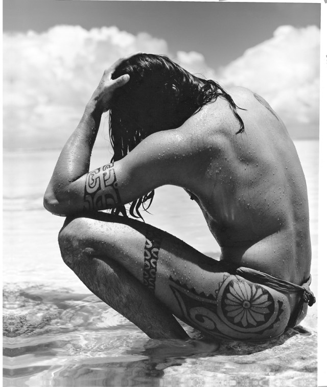 Gian Paolo Barbieri - 1989 Tahiti Tattoos - Vintage gelatin silver print - Courtesy by 29 ARTS IN PROGRESS gallery