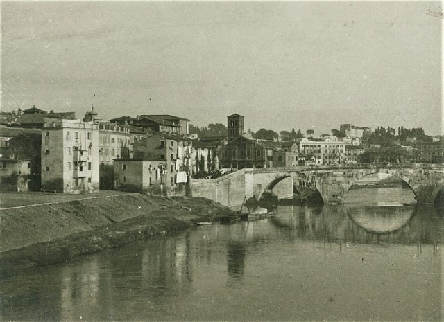 Isola Tiberina, 1910 circa