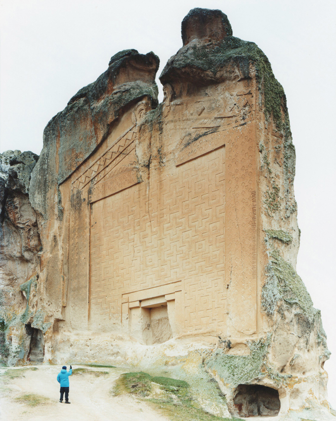 Tomb of King Midas, Turkey 2011 Milella