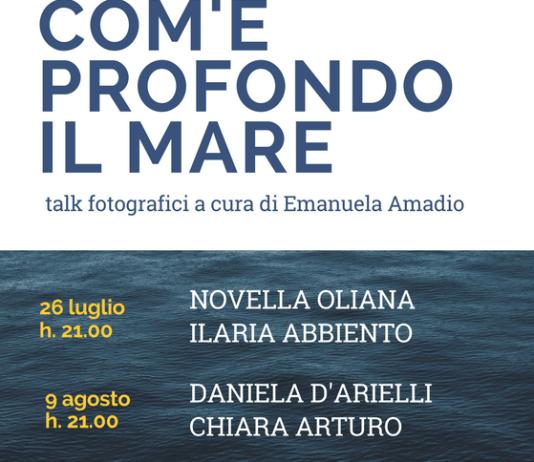 a Giulianova i talk sulla fotografia contemporanea