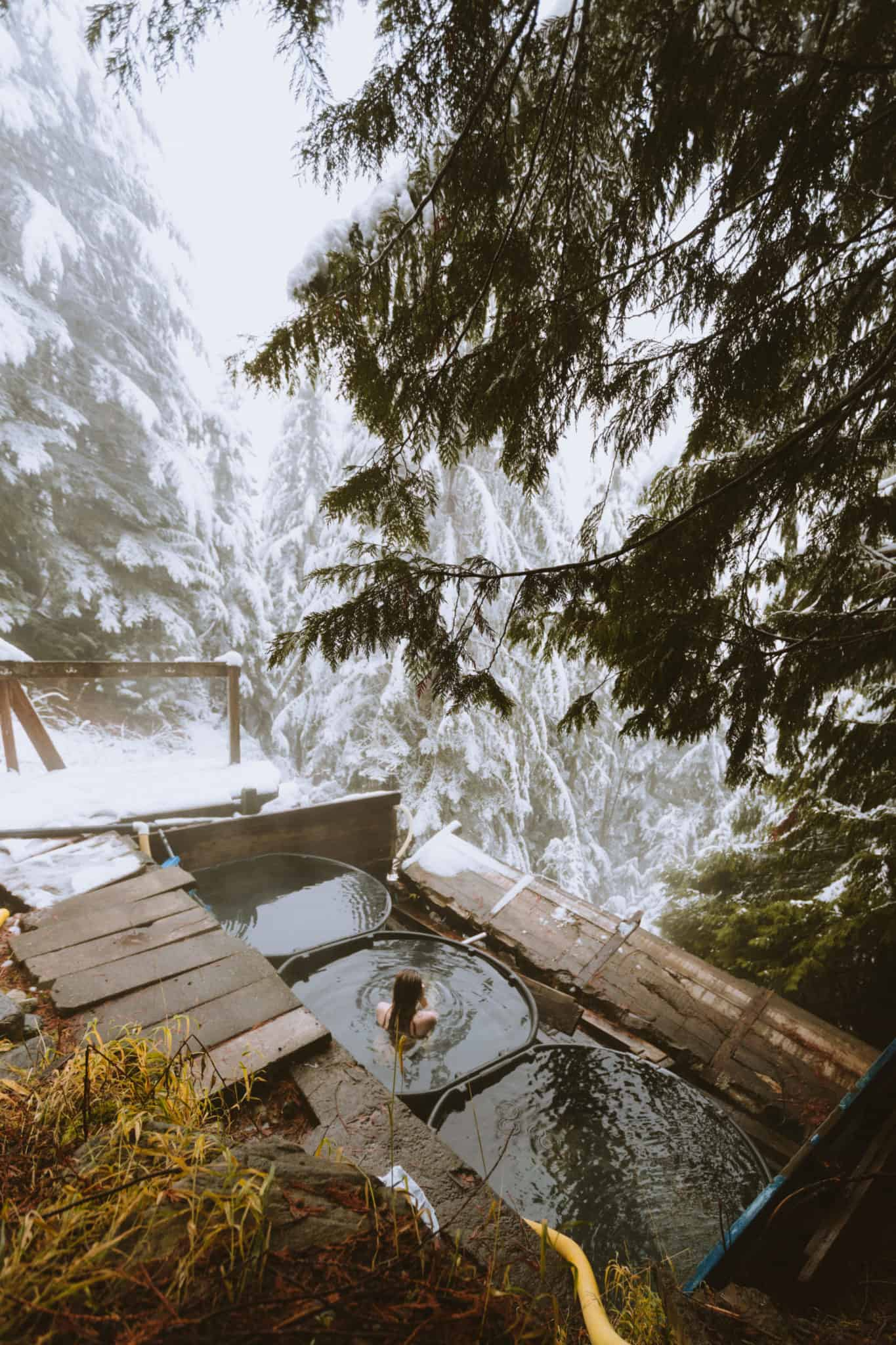 Scenic Hot Springs In The Cascade Mountains The Mandagies