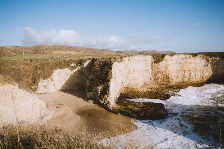 Coastal Cliffs Shark Fin Cove California