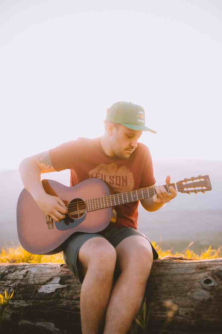 Forrest Playing Guitar - Travel Photography Tips