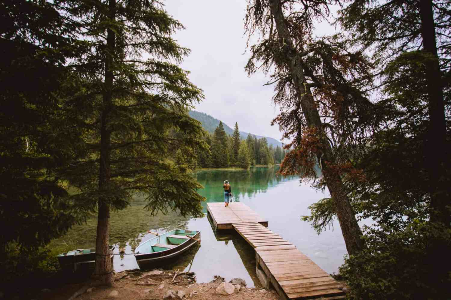 Photo Spots In Jasper National Park - Valley of Five Lakes
