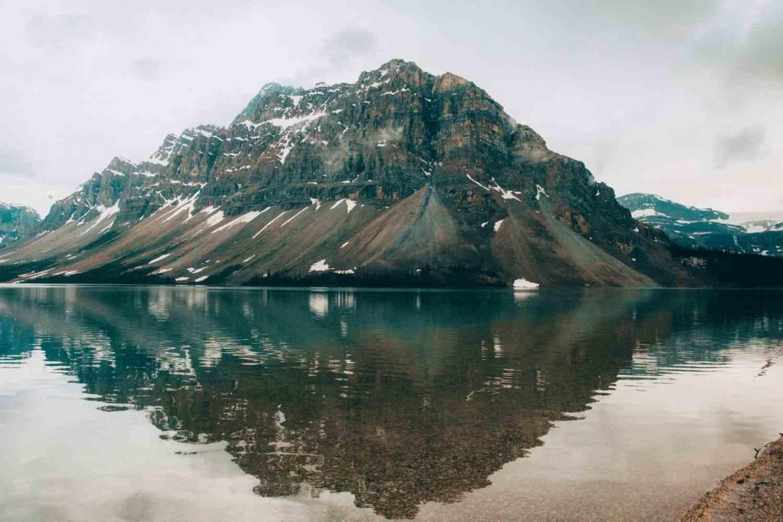 Photo Spots In Jasper National Park - Bow Lake