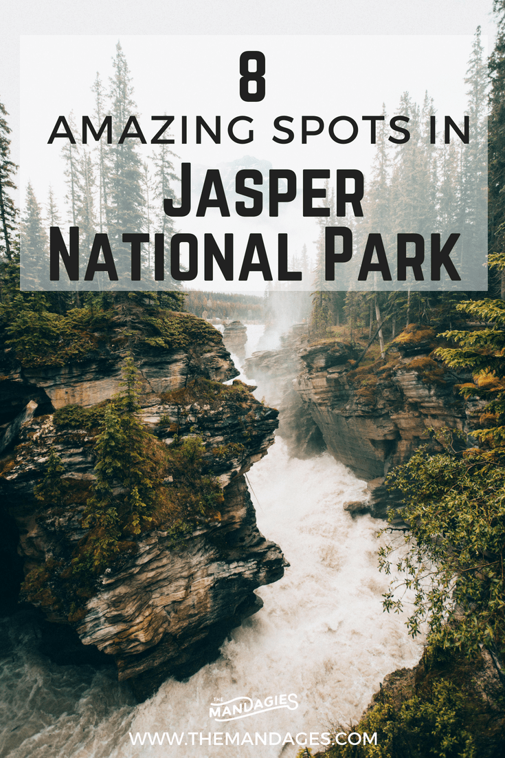 Ready to explore the 8 best photo spots in Jasper National Park? We're sharing the top locations for amazing pictures of the Canadian Rockies! Locations include Maligne Canyon, Pyramid Lake, Icefields Parkway, and so much more! #canada #alberta #jasper #jaspernationalpark #canadianrockies #mountain #hiking #Banff #rockymountains #photography #landscape #photos #instragram