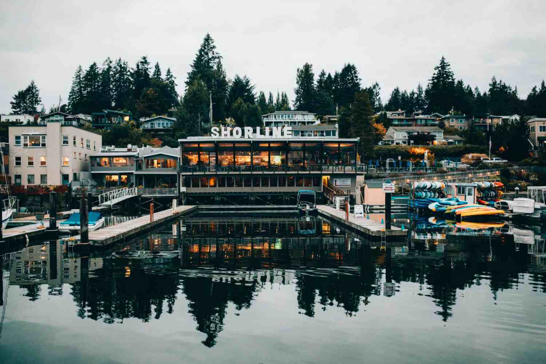 Anthony's Restaurant Shorline Sign, Gig Harbor, Washington - TheMandagies.com