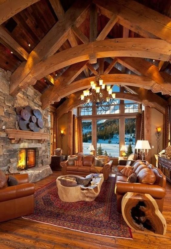 comfy and cozy lodge