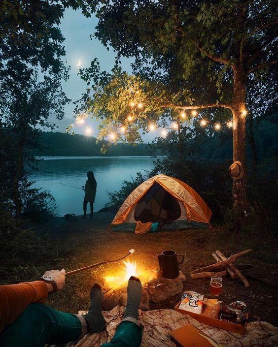 summer campsite