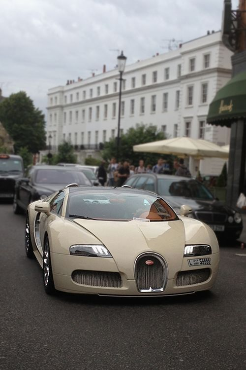 cream color bugatti