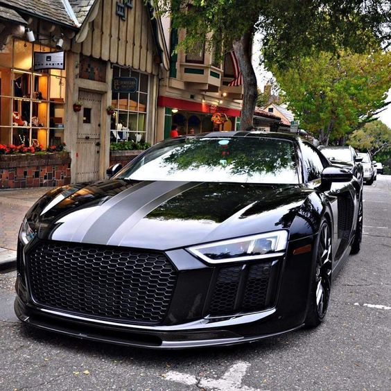 black supercar
