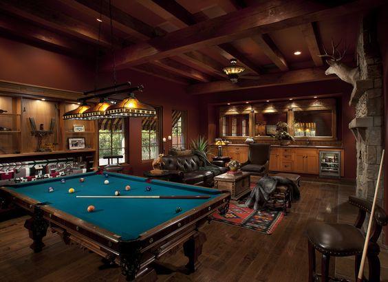billiards room for men