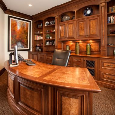 wood office space