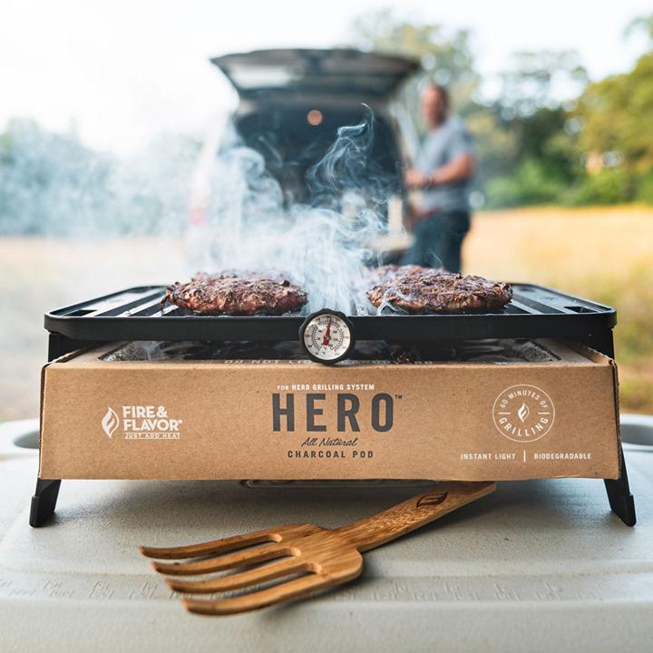 Fire & Flavor HERO Grill