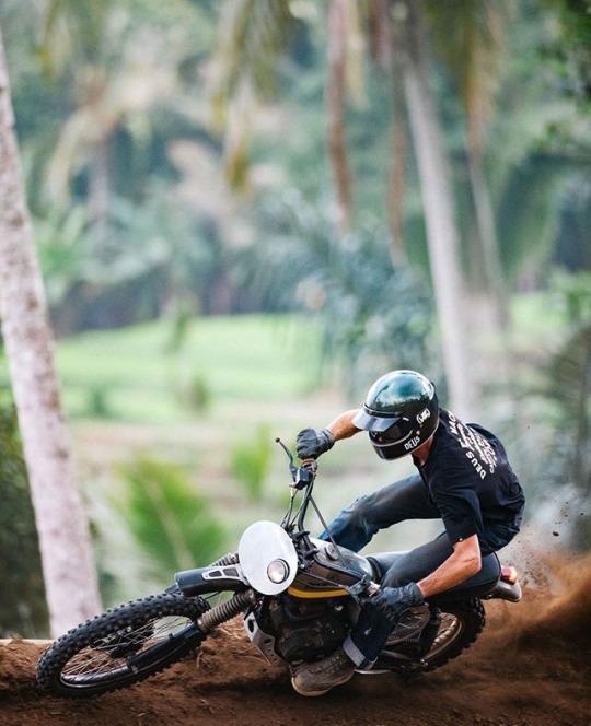 man on dirt bike