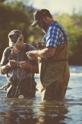 fly fishing buddies