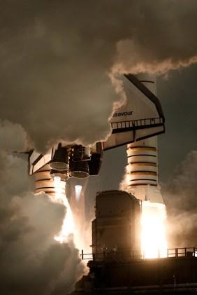 shuttle lift off