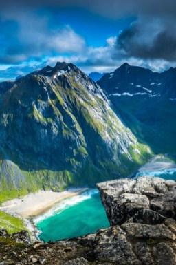 rugged cliffs