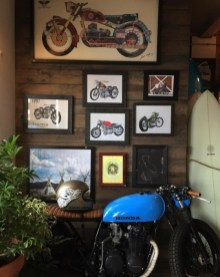 blue cafe honda