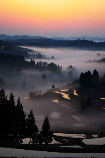 misty valley
