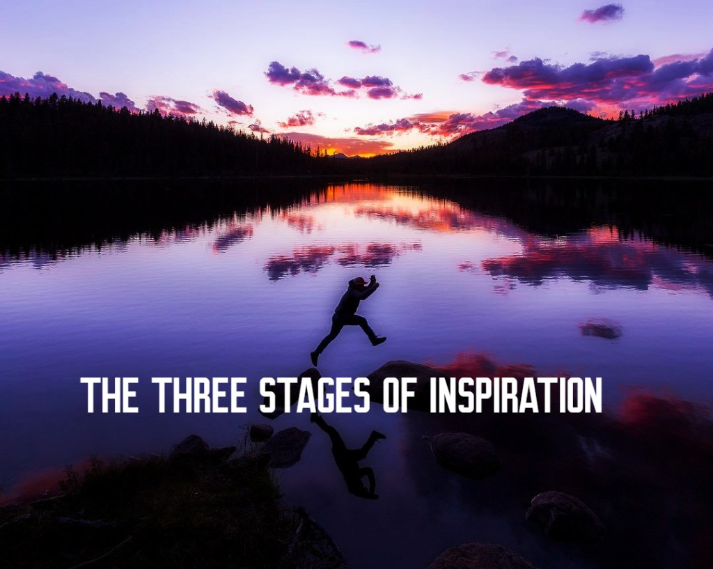 the three stages of inspiration