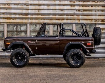 tough looking ford bronco