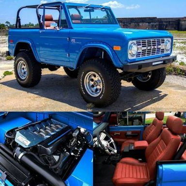 blue ford bronco